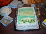 9-16-12 CAKE FOR FRANCES MC NAMARA SIGNING